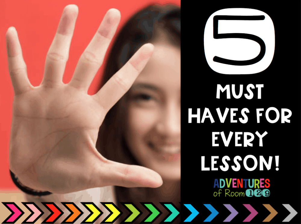 So many best practices and don't know where to start? This article helps break down 5 best practices needed in every lesson. These are my non-negotiable for every lesson that help get the best results academically from my students. Grab your FREE printable list of best practices to help you narrow down what you can and should be focusing on in your own classroom!