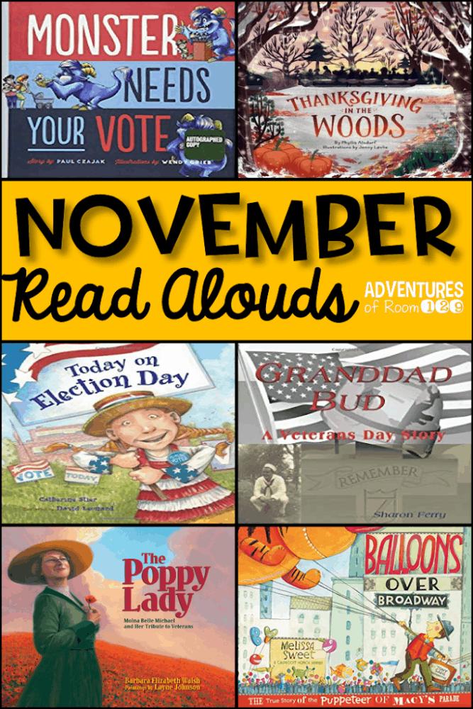 November Read Alouds