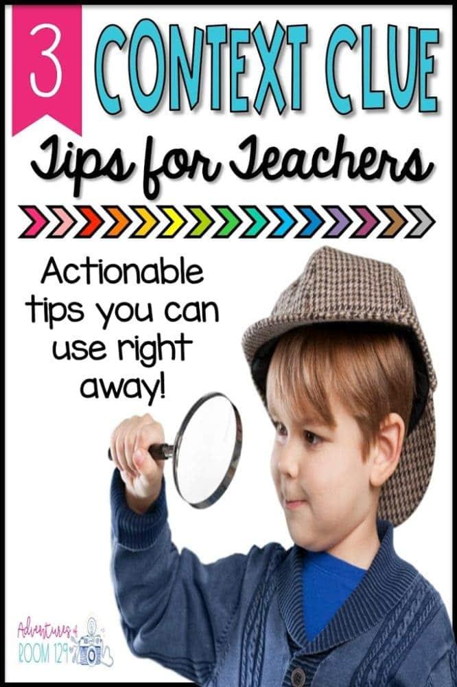 Context Clue Strategies for Elementary Teachers