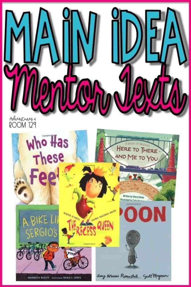 Main Idea Mentor Texts
