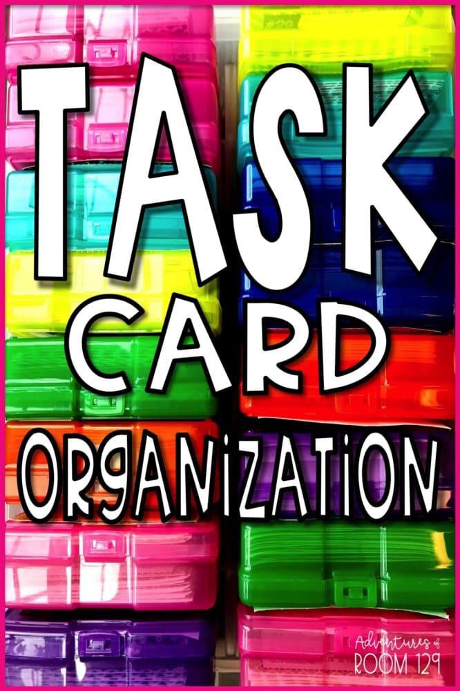 Task Card Organization