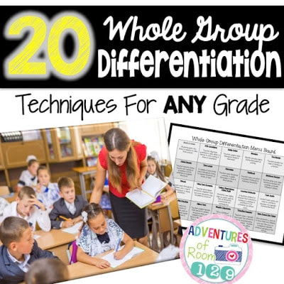 Whole Group Differentiation