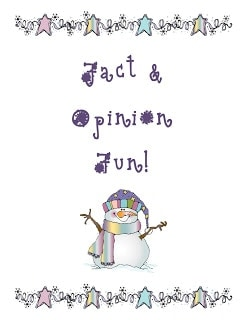 Fact and Opinion Center