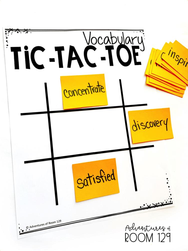 Vocabulary Game