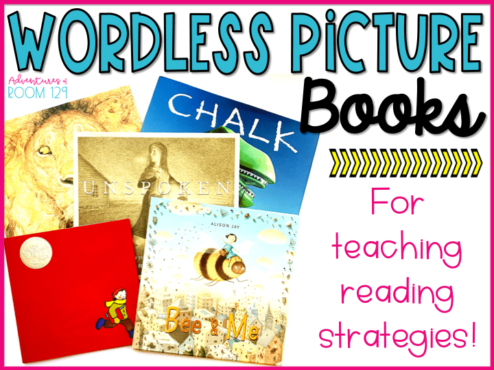teaching reading strategies with wordless picture books
