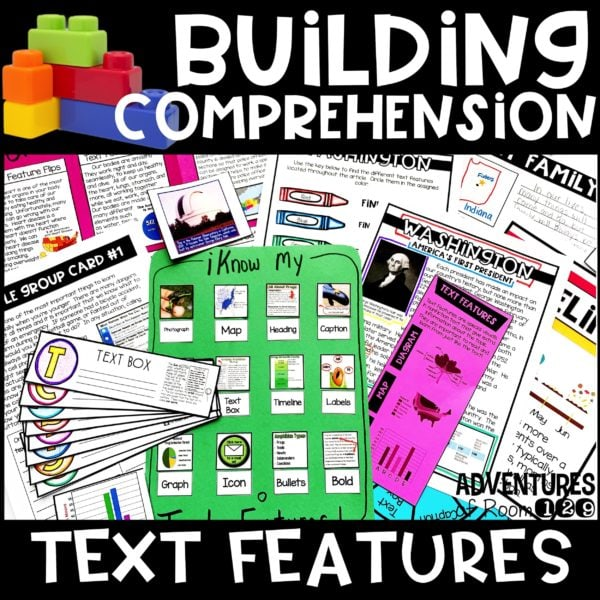 text feature printables