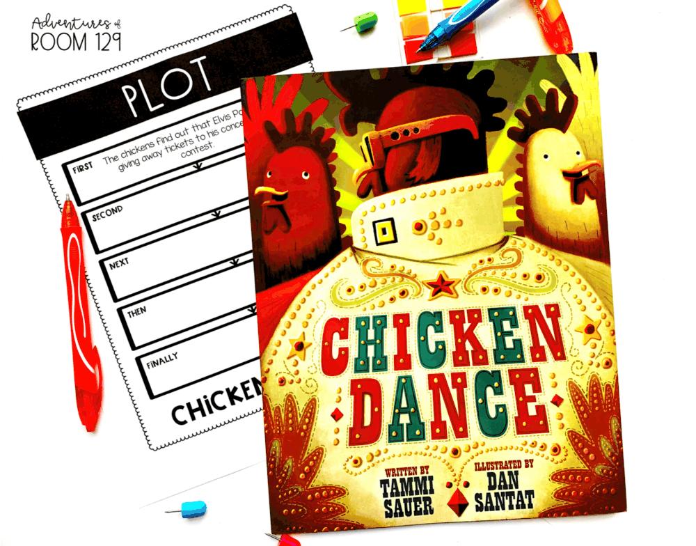chicken dance fiction book