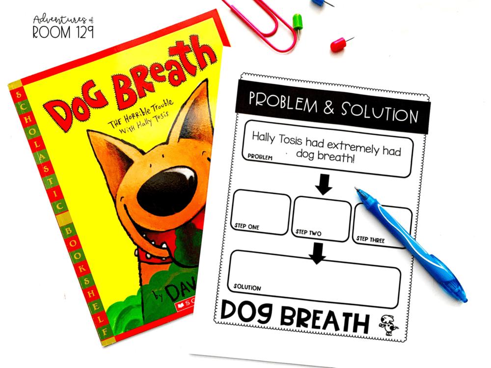 dog breath fiction book