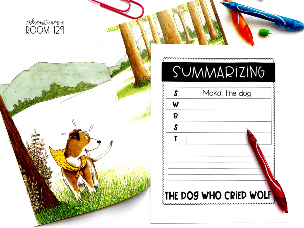 dog who cried wolf fiction book