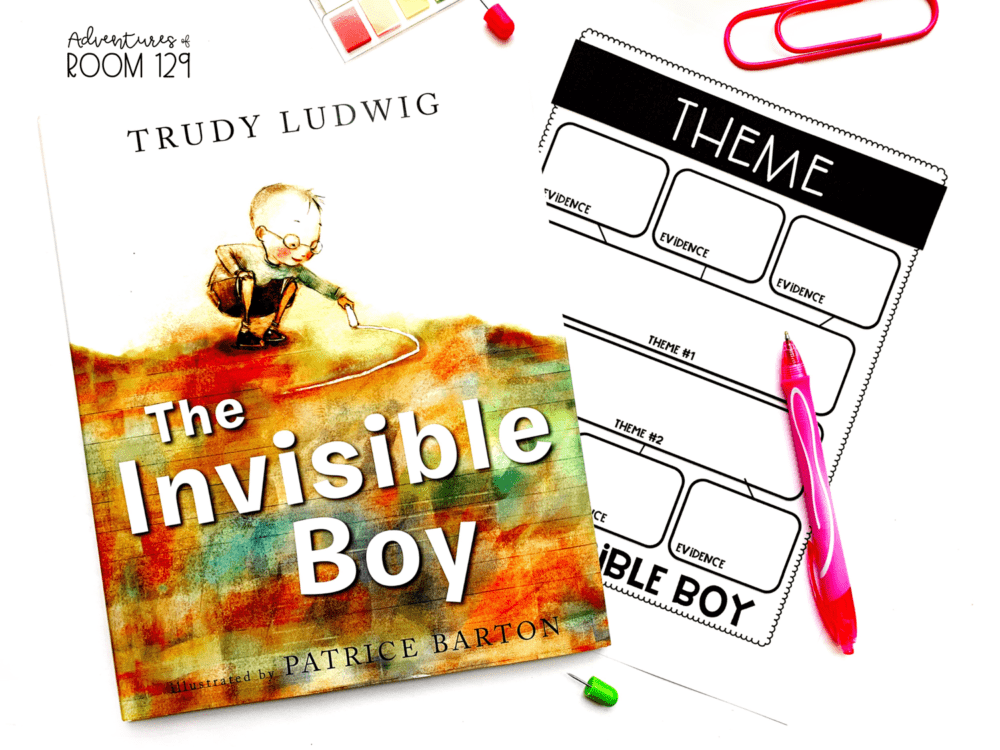 the invisible boy fiction book