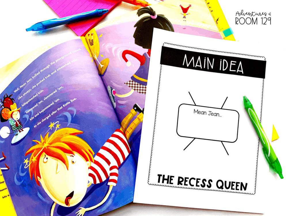 the recess queen fiction book