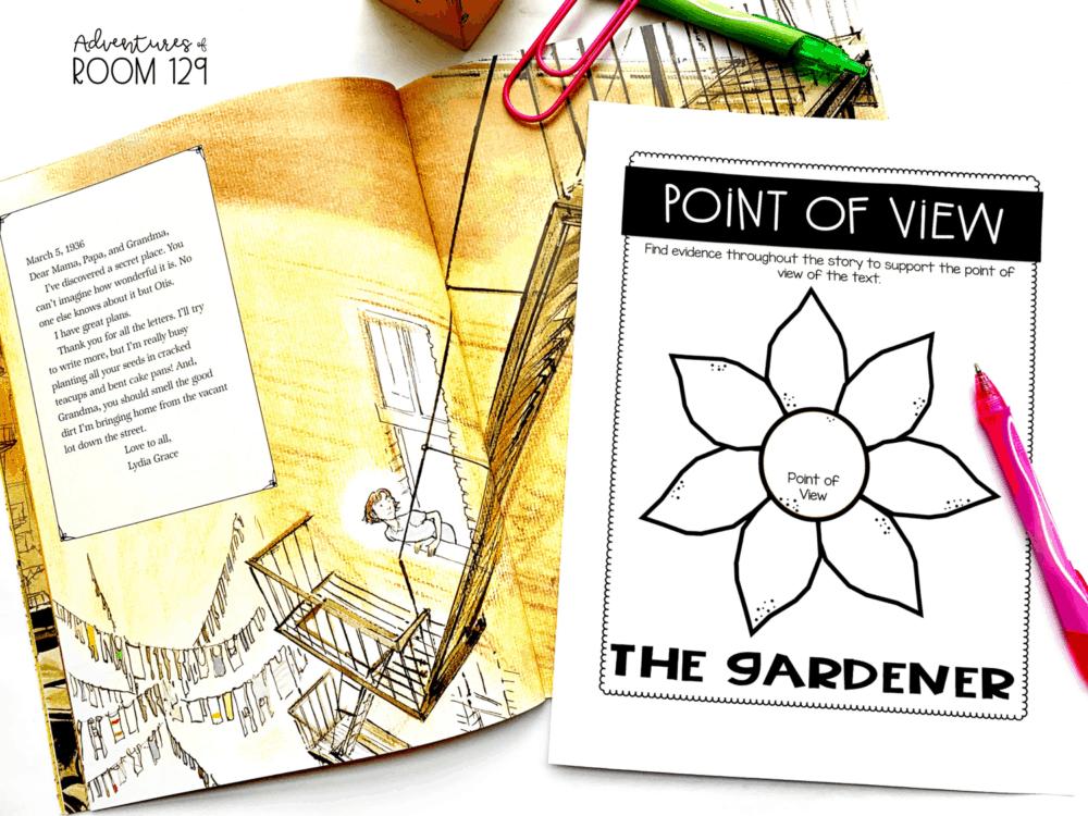 the gardener fiction book
