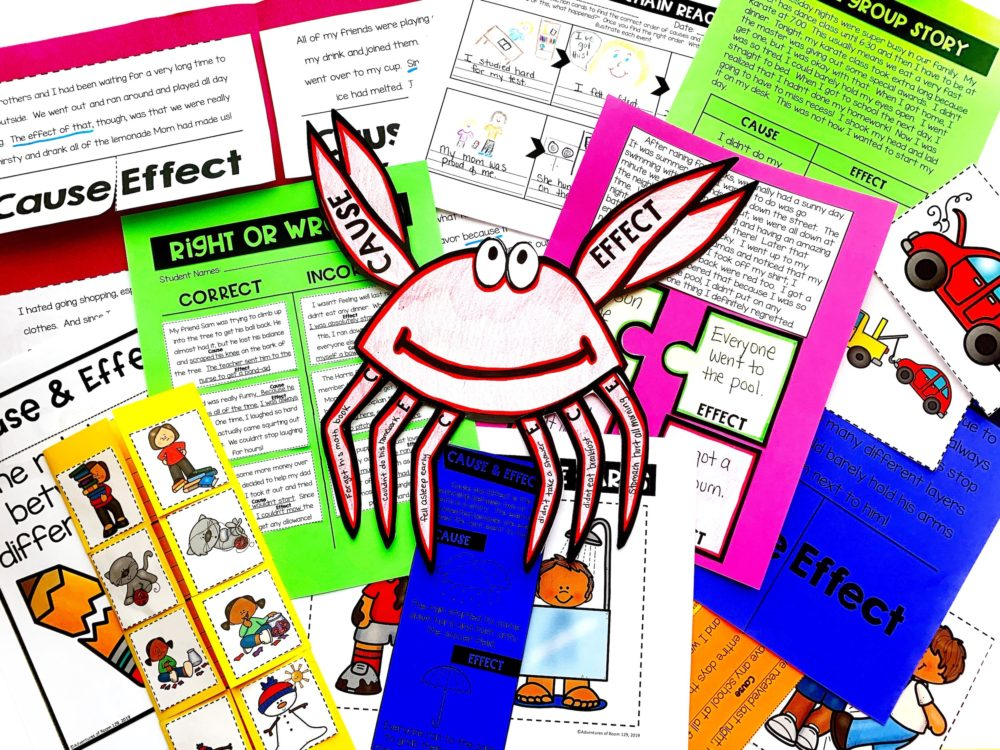 cause and effect lesson plans