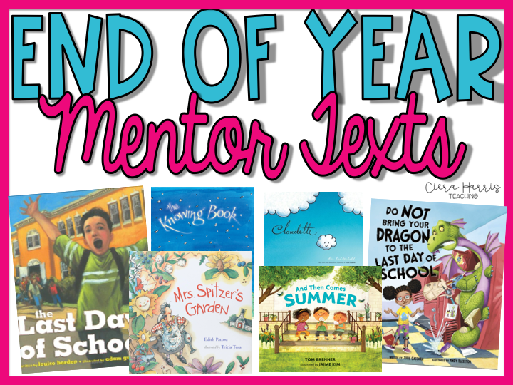 end of year books