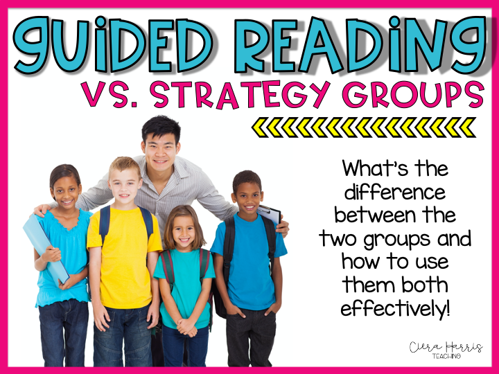 guided reading vs strategy groups