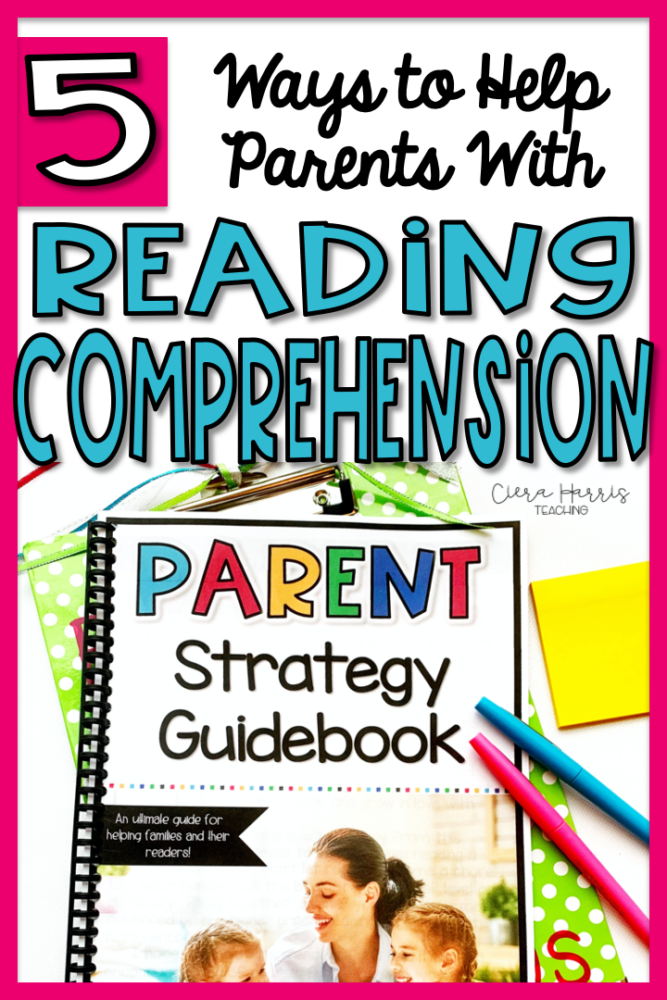 Helping parents with comprehension