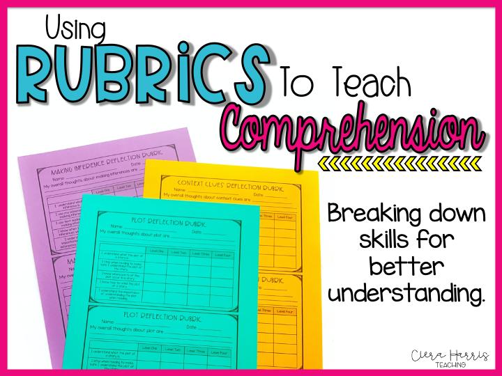 comprehension rubrics