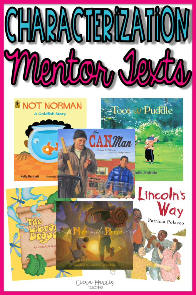character mentor texts