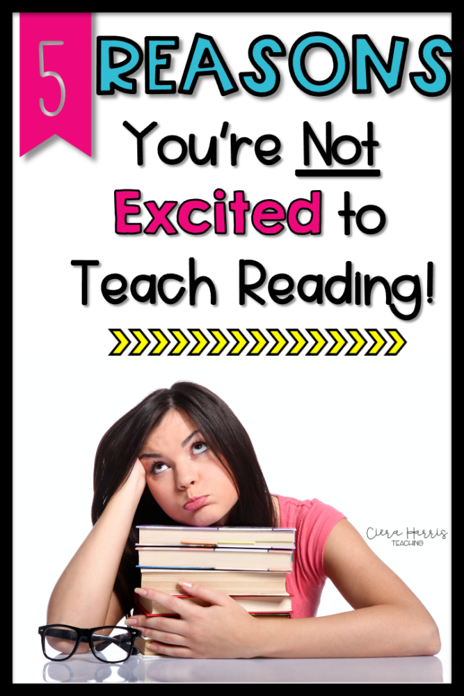 Why you don't like to teach reading