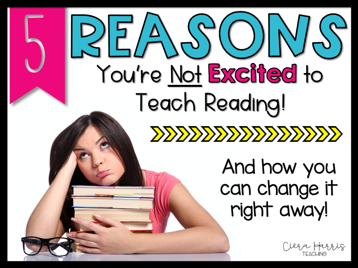 Reasons why you don't like teaching reading