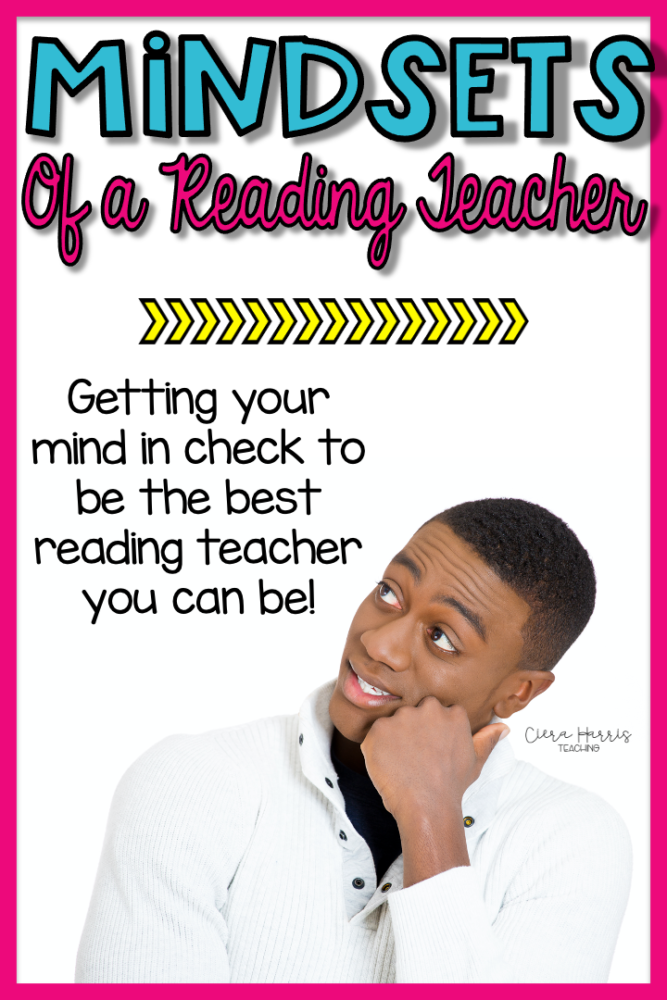 Mindsets of a reading teacher