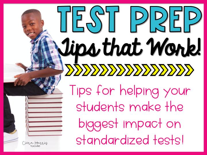 test prep tips