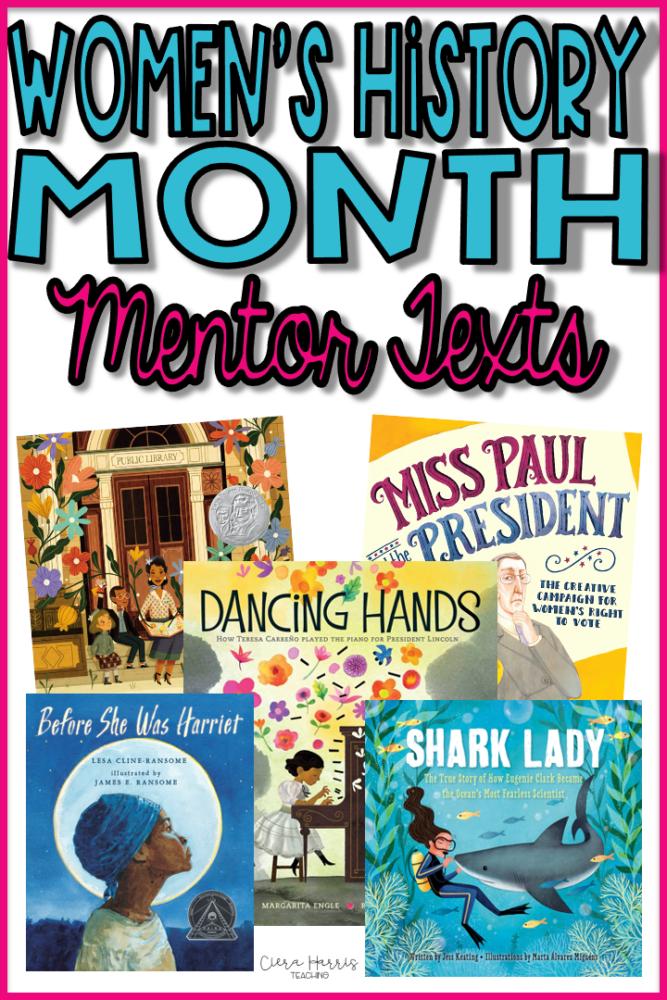 Women's History Month Blog Pin