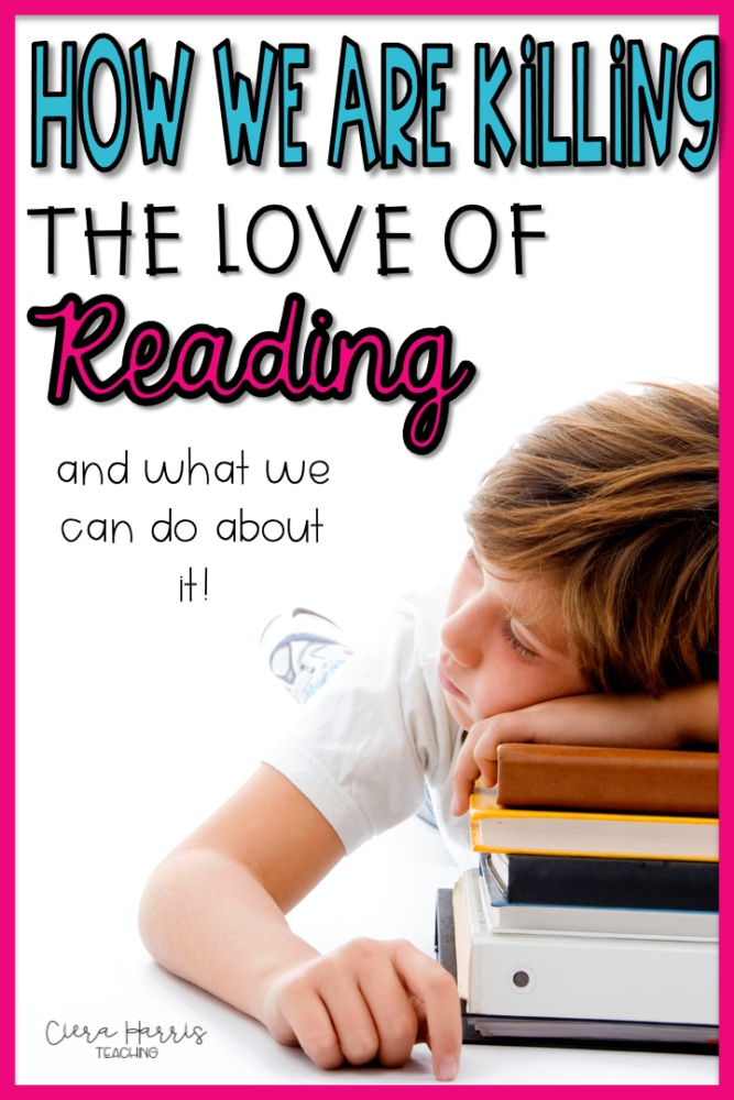 How we are killing the love of reading pin