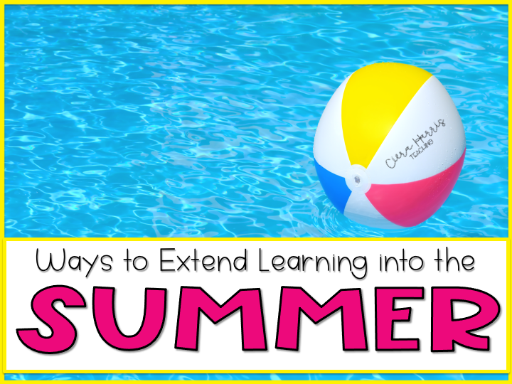 Ways to Extend Learning Into the Summer Blog Header