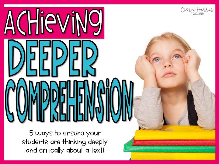 Achieving Deeper Comprehension blog header