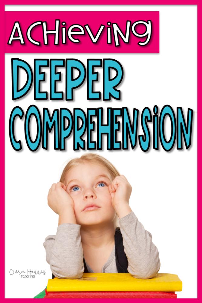 deeper level comprehension