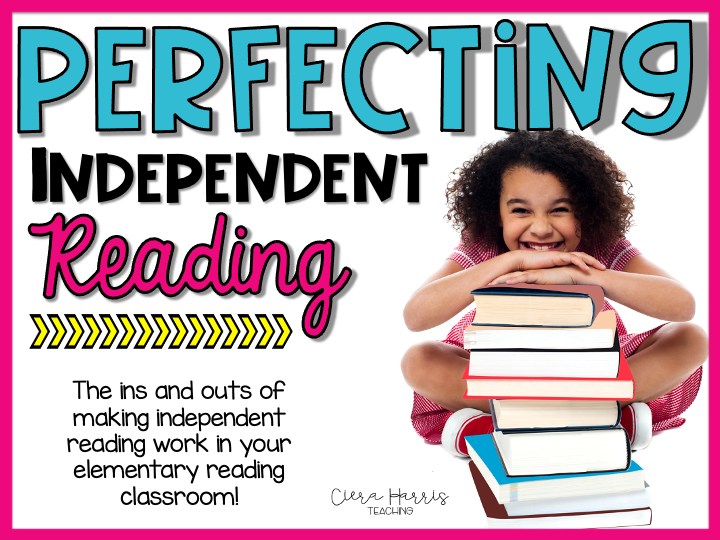 Perfecting Independent Reading Blog header