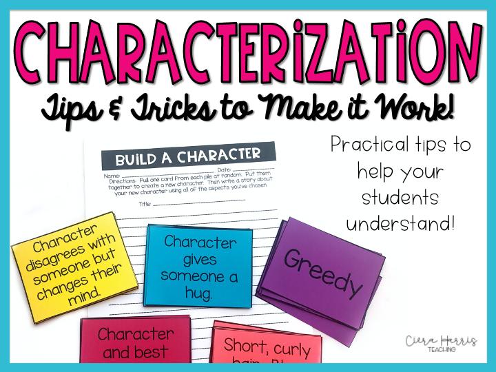 Characterization Tips blog header